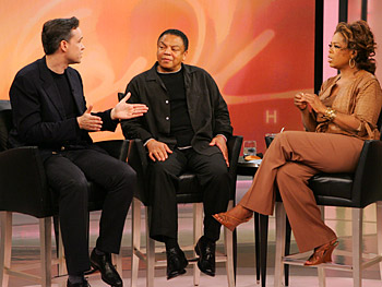 Dr. Holden, Reggie and Oprah discuss the 'fear of happiness.'