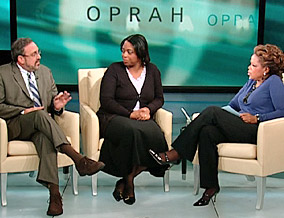 Scam prevention expert Sid Kirchheimer, Shannon and Oprah