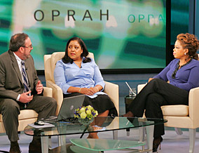 Sid, Julia and Oprah