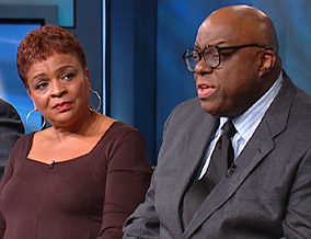 Diane Weathers and Stanley Crouch