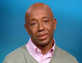 Russell Simmons says rappers merely report what they see.