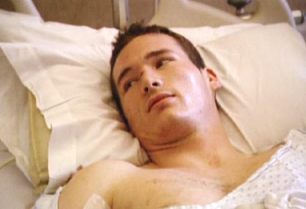 Colin was shot three times.