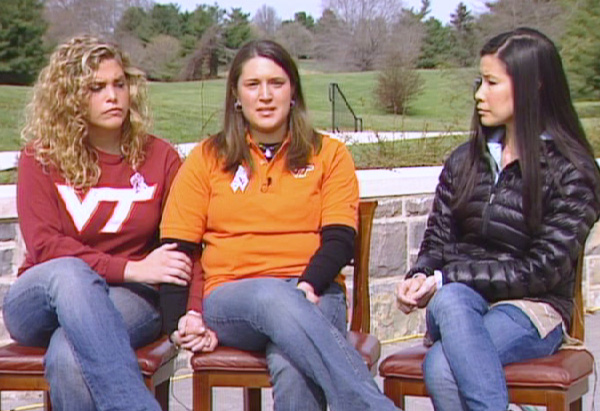 Lisa talks with Kelsey and Rochelle about the power of Hokie Pride.