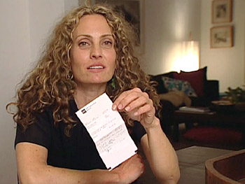 Elizabeth Rogers says ATM receipts are a huge waste.