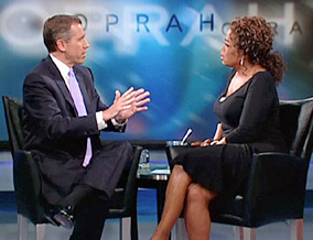 Brian Williams and Oprah discuss NBC's decision.