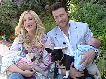 Tori, Dean, Liam and Mimi La Rue, Ferris and Chiquita