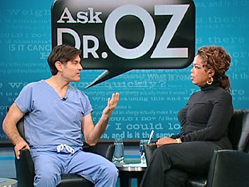 Dr. Oz explains Rolfing, a type of deep-tissue massage.