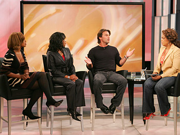 Gayle, Katina, Steve and Oprah discuss a woman's inner dialogue.