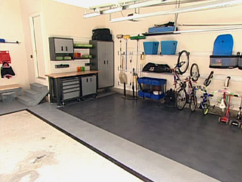 The garage is now clutter-free!