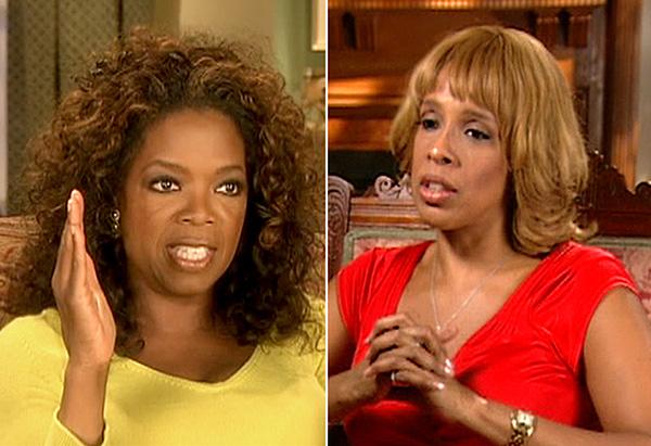 Oprah and Gayle agree to disagree.