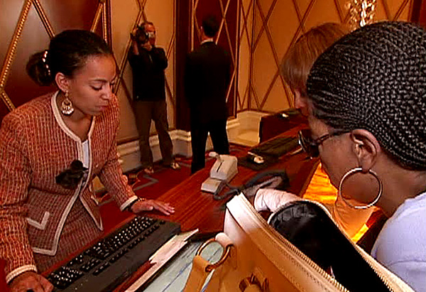 Oprah and Gayle check in