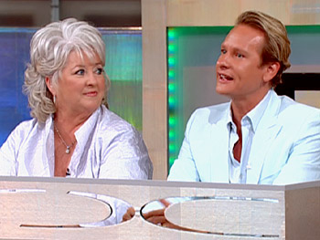Celebrity judges Paula Deen and Carson Kressley offer advice.