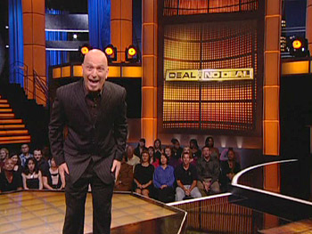 Howie Mandel on the set of 'Deal or No Deal'