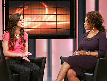 Michelle, a big winner on 'Deal or No Deal,' talks with Oprah.