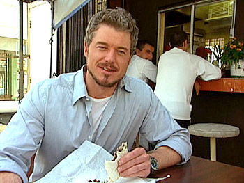 Eric Dane's favorite burrito at Yuca's.