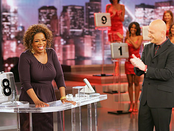 Oprah plays 'Deal or No Deal.'