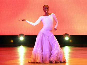 Dwana Smallwood performs Judith Jamison's 'Cry.'