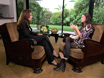Demi Moore and Maria Shriver