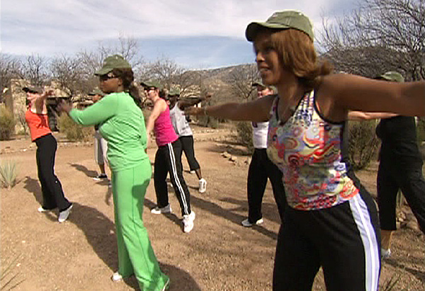 Oprah and Gayle's Zen Boot Camp experience