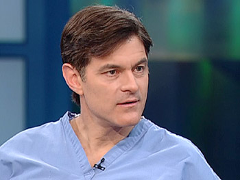 Dr. Oz explains the benefits of water.