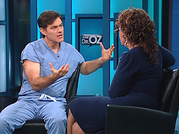 Dr. Oz and Oprah discuss aging well.