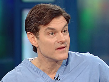 Dr. Oz says you can eat all the sushi you want without worrying about getting a parasite.