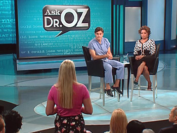 Dr. Oz explains that being overweight can cause early puberty.