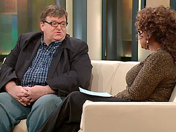 Michael Moore says every major insurance company refused to cover 'Sicko.'