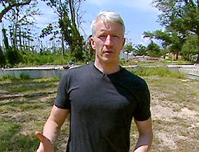 Anderson Cooper reports from Waveland, Mississippi.