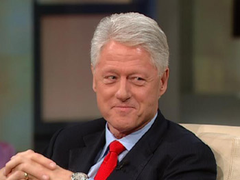 Bill Clinton discusses his philanthropic efforts.