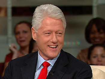 Bill Clinton talks about his new book and his new passion.