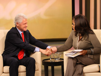 President Bill Clinton on giving back