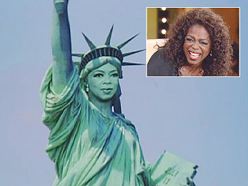 Oprah-mania strikes New York.