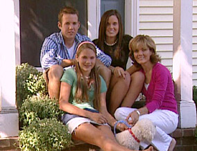 The Coombs family in 2007