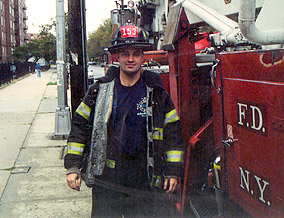 New York City firefighter Stephen Siller
