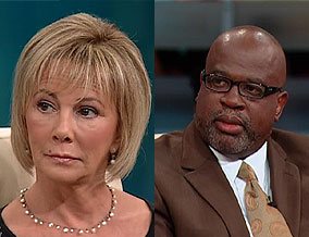 Marcia Clark and Christopher Darden