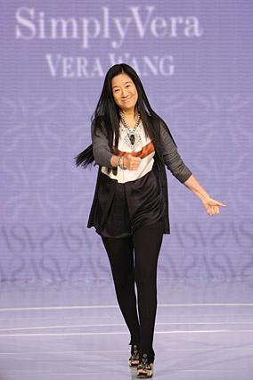 Fashion designer Vera Wang