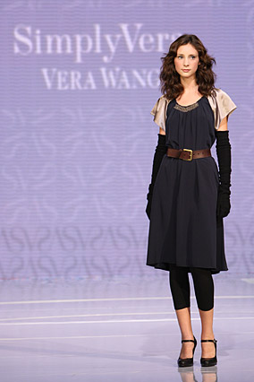 Simply Vera's belted dress