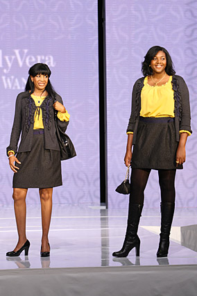 Marian and Alisia in Simply Vera fashions