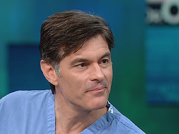 Dr. Oz says eating some fish can help reduce stress.