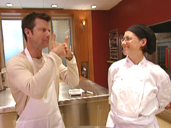 Bob goes inside the Lean Cuisine culinary center with chef Amanda Hassner.