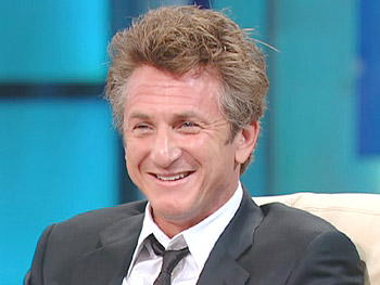 Sean Penn, one of Oprah's favorite actors