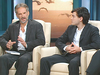 Jon Krakauer and Emile Hirsch