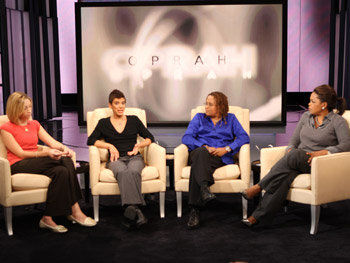 Oprah and Dr. Alice Dreger, an expert on intersex