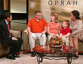 M. Gary Neuman, Jim, Daisy, Kris and Oprah