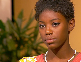 Ebony feels guilty about her parents' divorce.