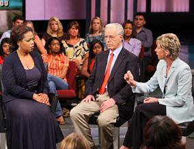 Oprah, Professor Reinhardt and Karen Ignagni