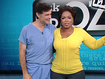 Dr. Oz is taking over The Oprah Show.
