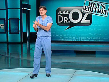 Dr. Oz explains how erections work.