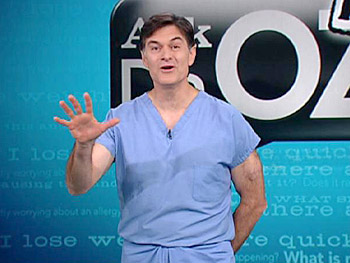 Dr. Oz explains gas.